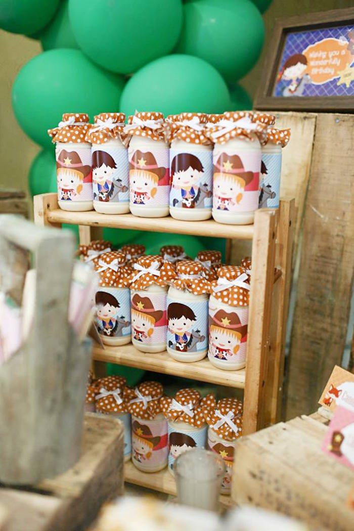 Karas Party Ideas Little Cowboy Birthday Party  Karas