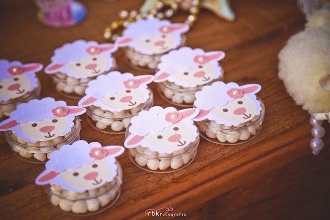Lamb Favors From A Little Baby Shower Via Kara 39 S Party Ideas Karaspartyideas Com