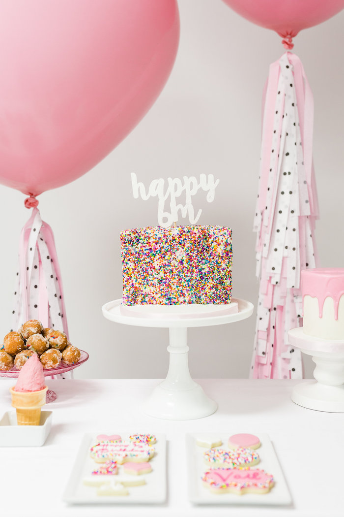Karas Party Ideas Little Sprinkles Half Birthday Party