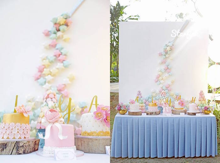 Kara's Party Ideas Pastel Girly Wonderland Rainbow