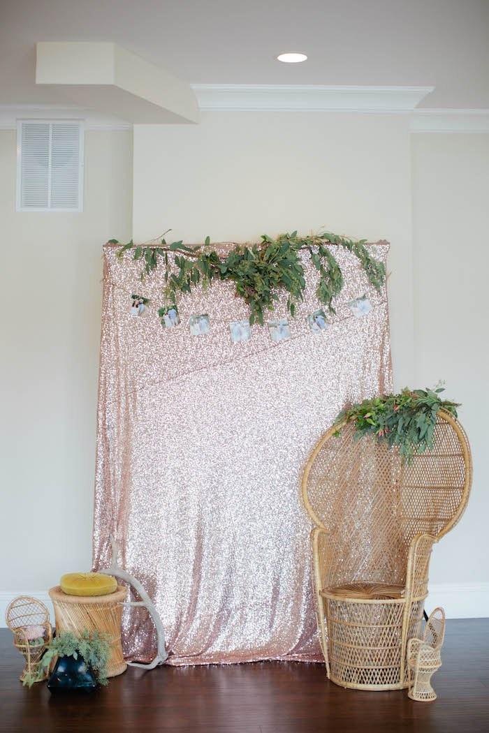Kara's Party Ideas Outdoor Boho Baby Shower
