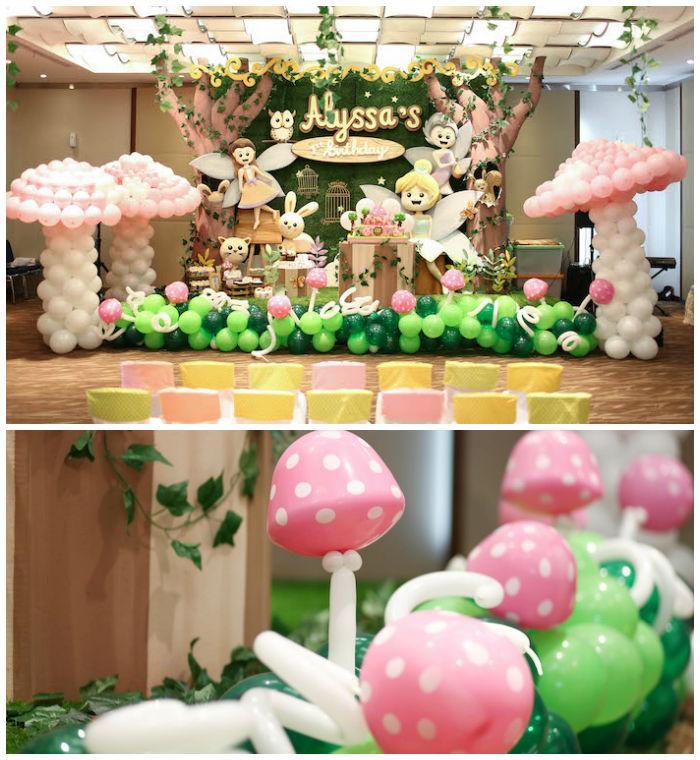 Kara's Party Ideas Fairy Garden 1st Birthday Party Kara's Party