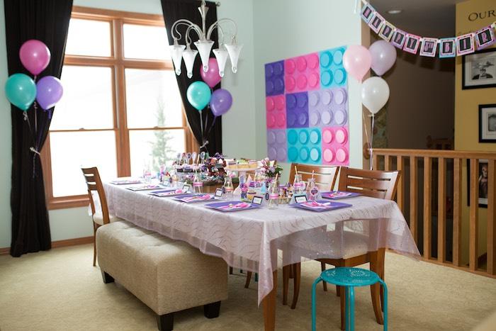 Kara's Party Ideas Girl Themed Lego Elves Party Kara's