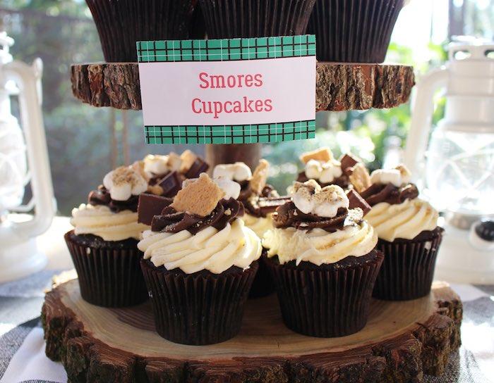 Karas Party Ideas Littlest Lumberjack Birthday Party