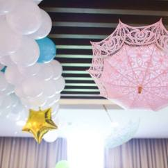 Hanging Umbrella Chair Beach Picture Frame Kara's Party Ideas Mary Poppins Themed Birthday |