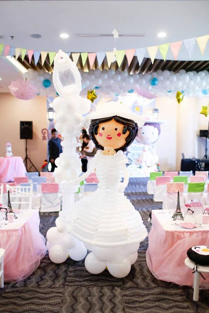 Karas Party Ideas Mary Poppins Themed Birthday Party