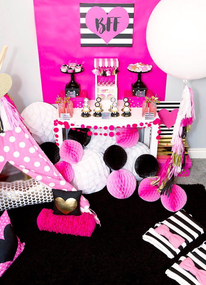 Karas Party Ideas American Girl Doll BFF Party Inspired