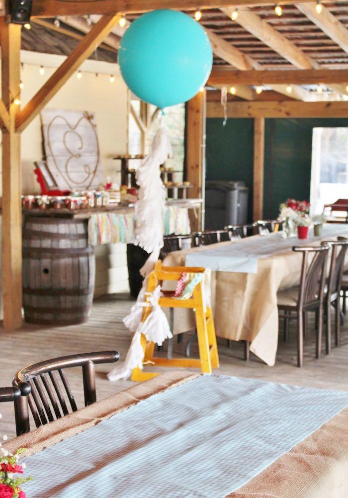 high chair restaurant hammock stand uk kara's party ideas county fair themed birthday |