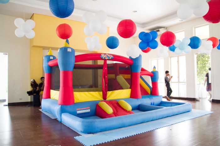 Kara's Party Ideas Entertainment Bounce House From A Nautical