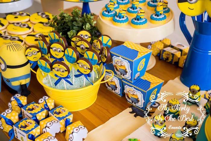 Kara39s Party Ideas Minions Birthday