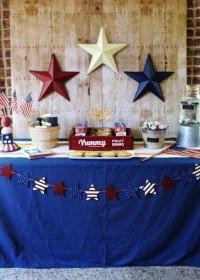 Kara's Party Ideas Patriotic Memorial Day Backyard BBQ ...