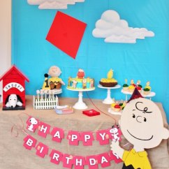 Ball Chair Amazon Thonet Bentwood Kara's Party Ideas Peanuts + Charlie Brown Birthday |