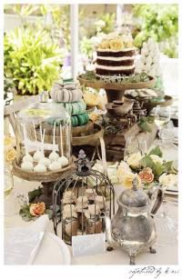 Kara's Party Ideas Rustic Outdoor Bridal Shower | Kara's ...