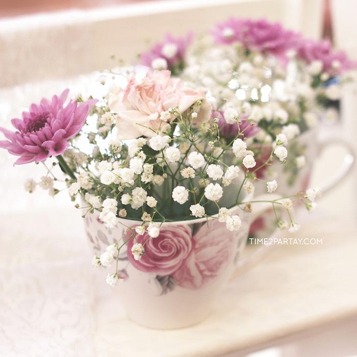 Kara's Party Ideas Afternoon Tea Bridal Shower