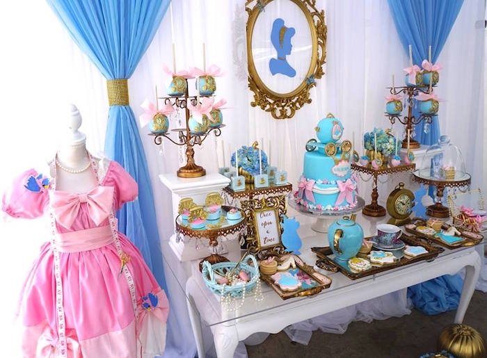 Karas Party Ideas Fairy Godmother Cinderella Birthday