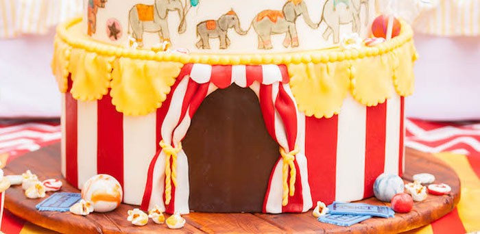 Karas Party Ideas Dumbo Circus Birthday Bash  Karas