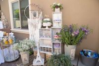 Kara's Party Ideas French Country Bohemian Bridal Shower ...