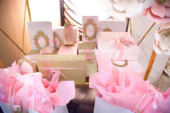 Karas Party Ideas Pink Tutu Cute Ballerina Baby Shower