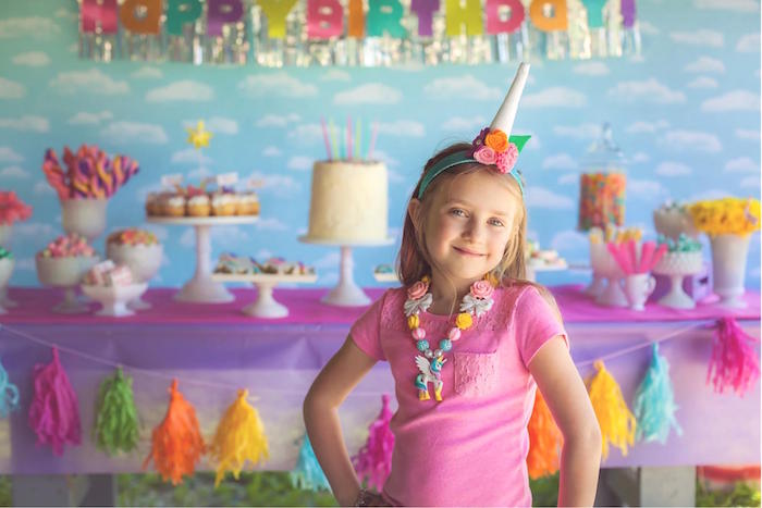 Kara's Party Ideas Rainbow Unicorn Themed Birthday Party