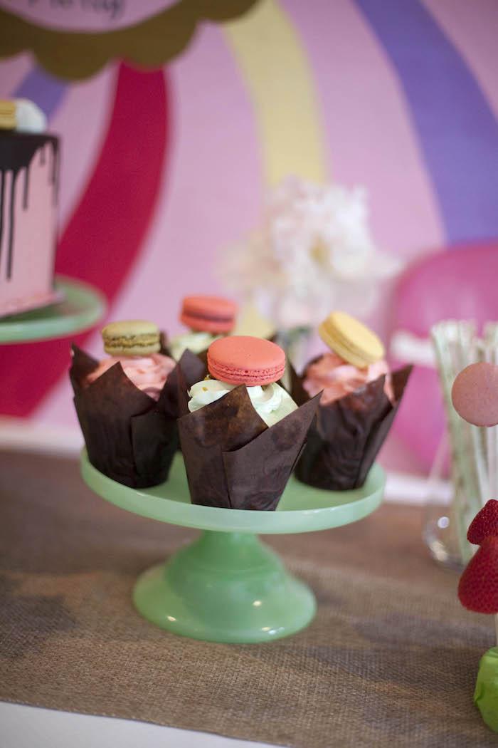 Kara's Party Ideas Sweet Macaron Themed Birthday Party