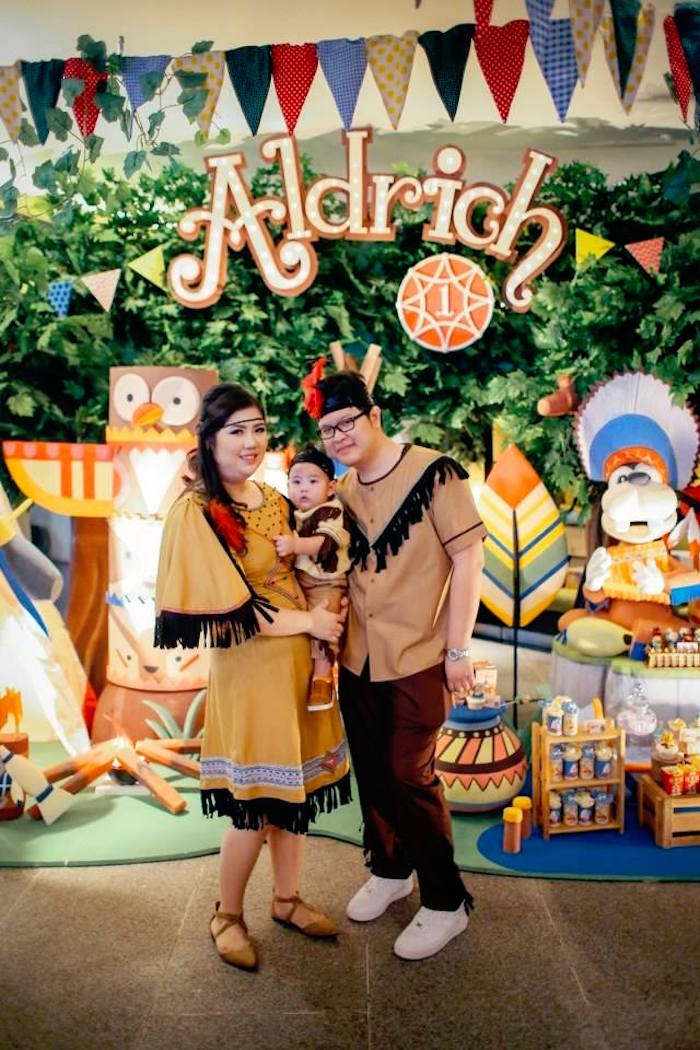 Karas Party Ideas Tribal Mickey Mouse Birthday Party