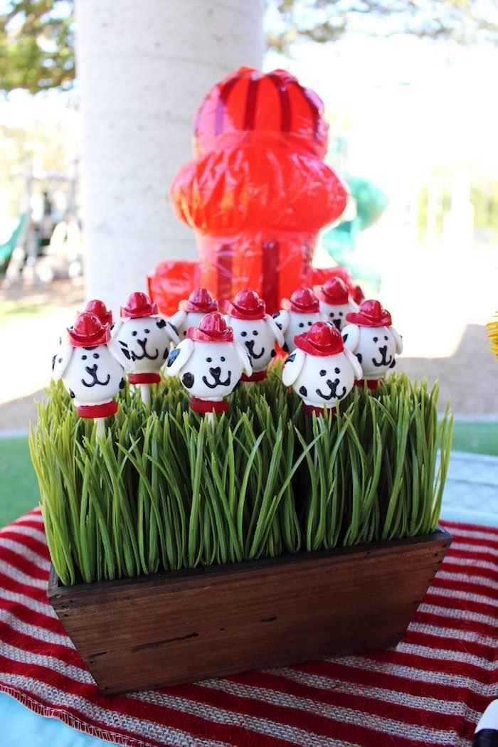 Karas Party Ideas Vintage Fireman Themed Birthday Party