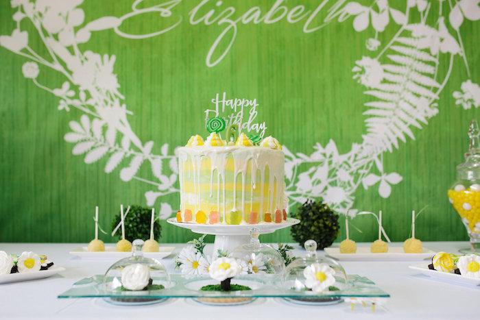 Kara's Party Ideas Daisy Garden Themed Birthday Party Kara's