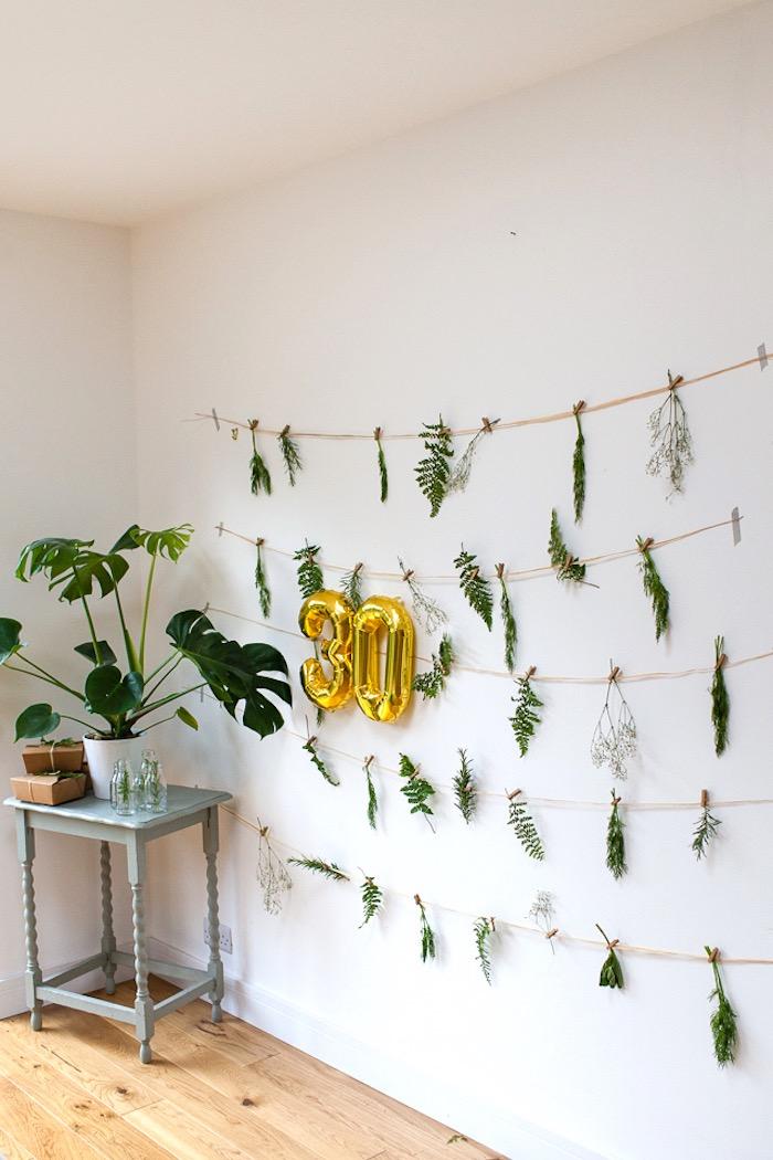Karas Party Ideas Elegant Botanical Garden Birthday