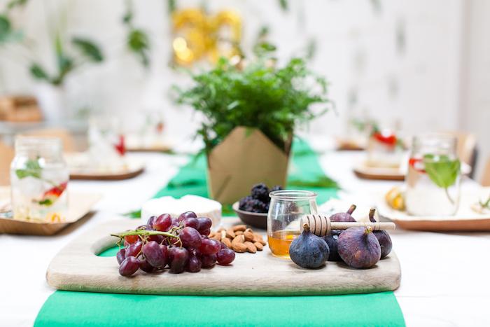 Kara's Party Ideas Elegant Botanical Garden Birthday Brunch