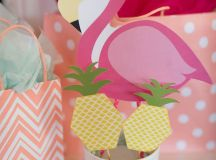 Kara's Party Ideas Flamingo + Flamingle Pineapple Party ...