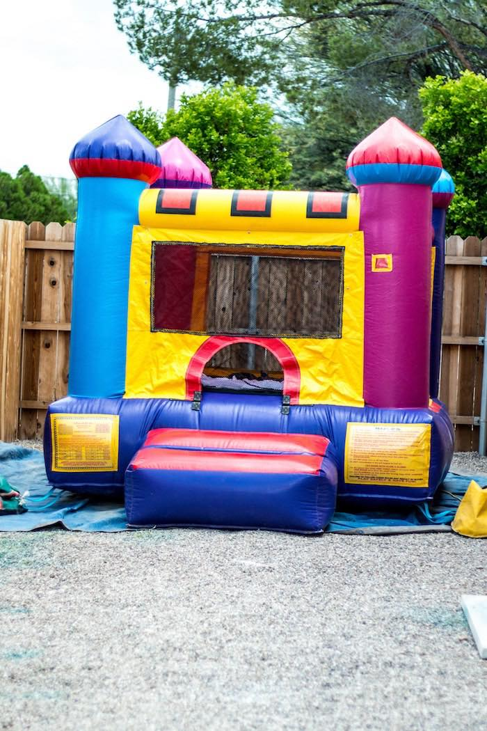 Kara's Party Ideas Bounce House From A Mickey Mouse Clubhouse