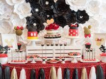 Kara's Party Ideas Glam Minnie Mouse Birthday Party   Kara's Party Ideas