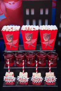 Kara's Party Ideas PJ Masks Superhero Birthday Party - us213