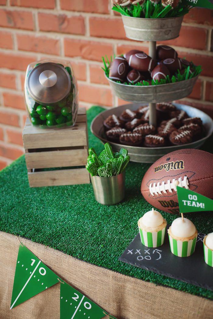Karas Party Ideas Tailgate Football Birthday Party Kara