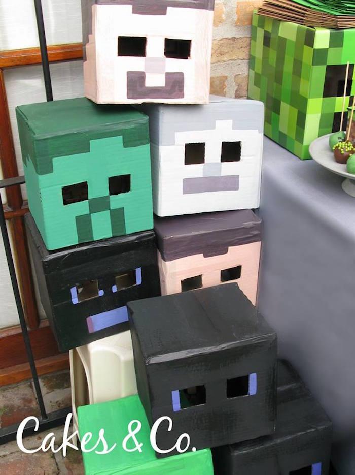 Karas Party Ideas TNT Minecraft Birthday Party Karas