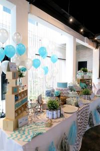 Kara's Party Ideas Modern Elephant Baby Shower