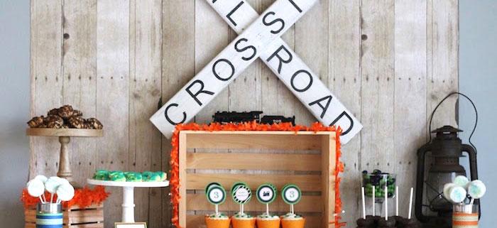 vintage classic train themed birthday party on kara s party ideas karaspartyideas com 3