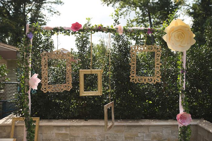 Kara's Party Ideas Vintage Enchanted Garden Birthday Party