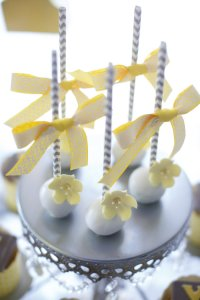 Kara's Party Ideas Yellow & Gray Alphabet Baby Shower ...