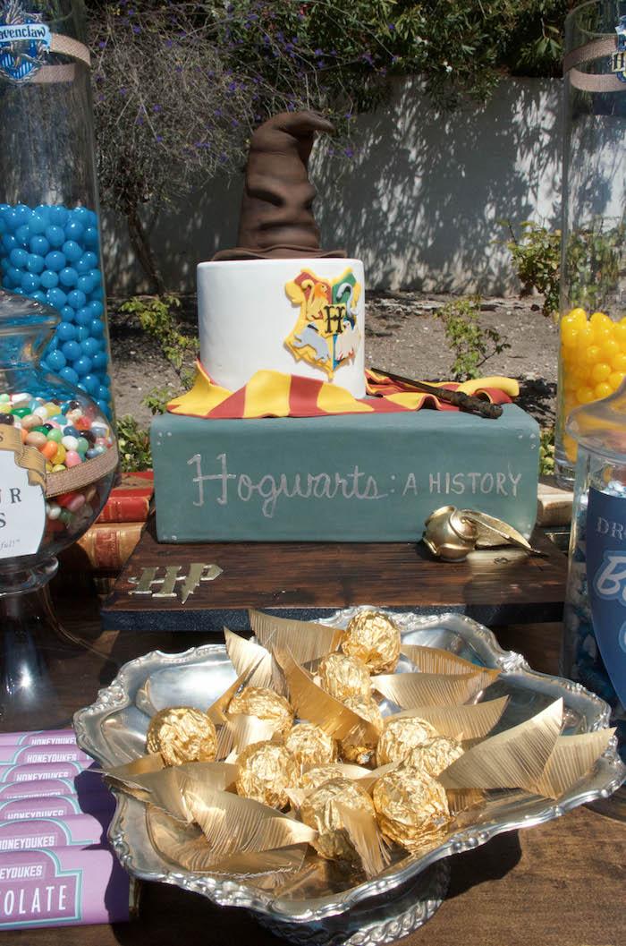 Karas Party Ideas Outdoor Harry Potter Birthday Party Karas Party Ideas