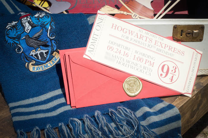 outdoor harry potter birthday party