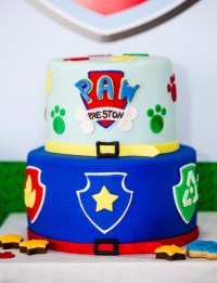Kara's Party Ideas Chic Paw Patrol Birthday Party | Kara's ...