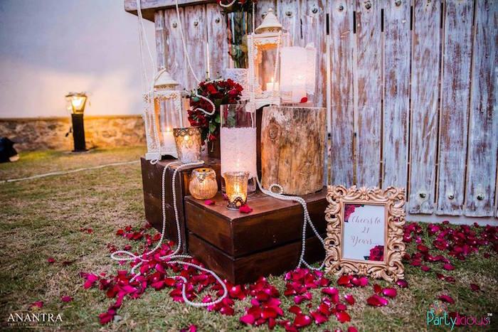 Kara's Party Ideas Decorative Lanterns Candles Decor From A