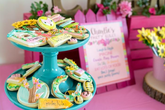 Karas Party Ideas American Girl Doll WellieWishers Garden