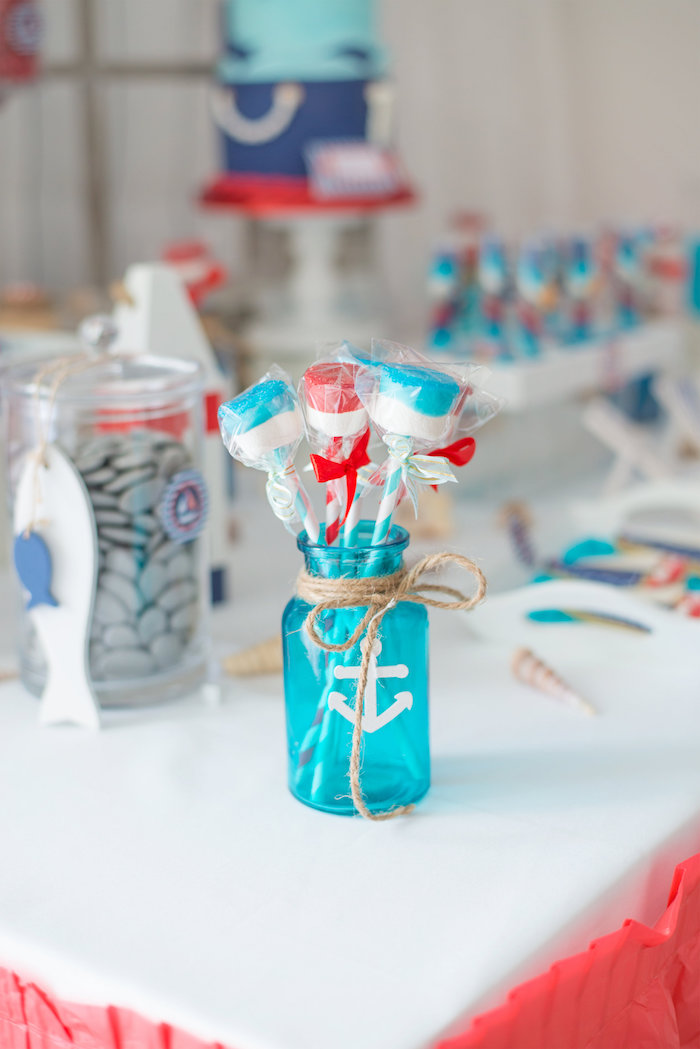 Kara S Party Ideas Little Sailor Nautical Baby Shower