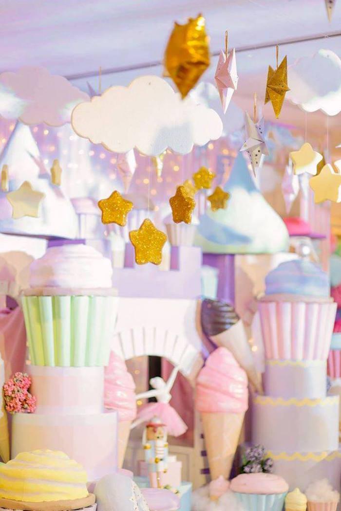 Kara S Party Ideas Nutcracker Ballerina Birthday Party