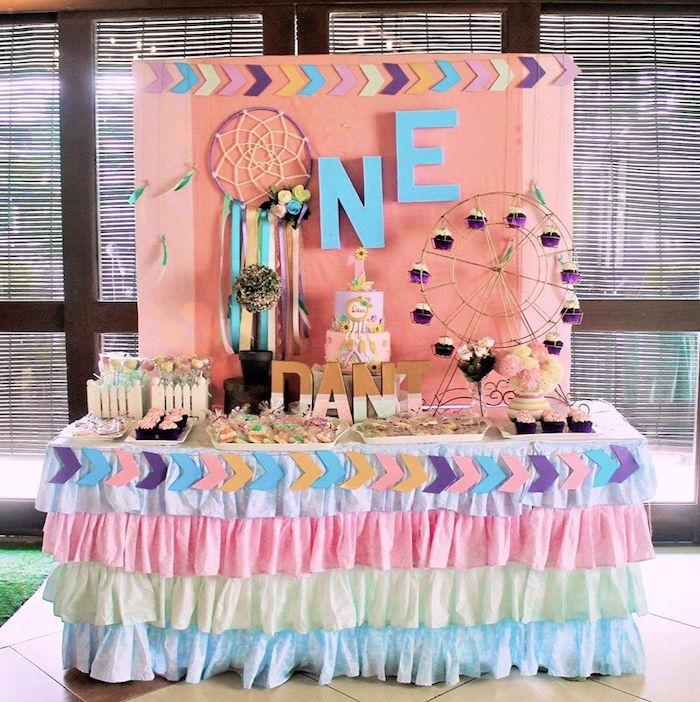 Karas Party Ideas Boho Chic Birthday Party Karas Party