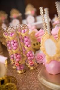 Kara's Party Ideas Gold & Pink Royal Princess Birthday ...