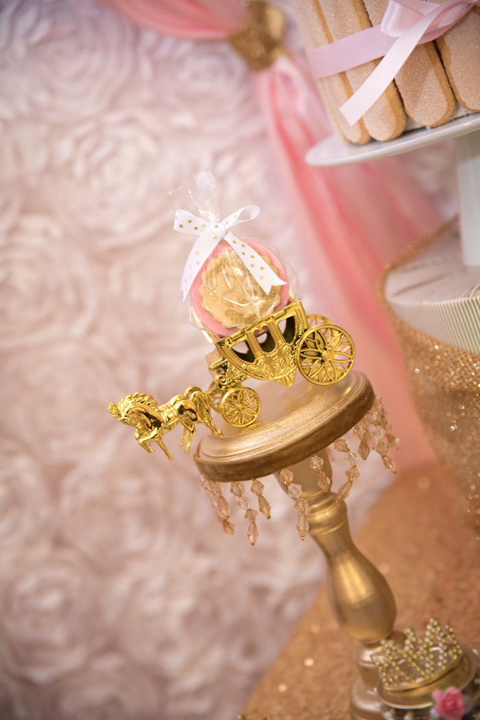 Karas Party Ideas Gold  Pink Royal Princess Birthday Party  Karas Party Ideas