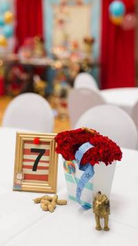 Kara's Party Ideas Vintage Circus Birthday Party | Kara's ...